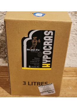Hypocras blanc BIB 3 Litres
